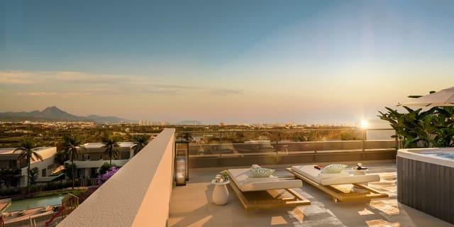 4 soverom Kjedet enebolig til salgs i Alicante by med svømmebasseng - € 495 000 (Ref: 5931057)
