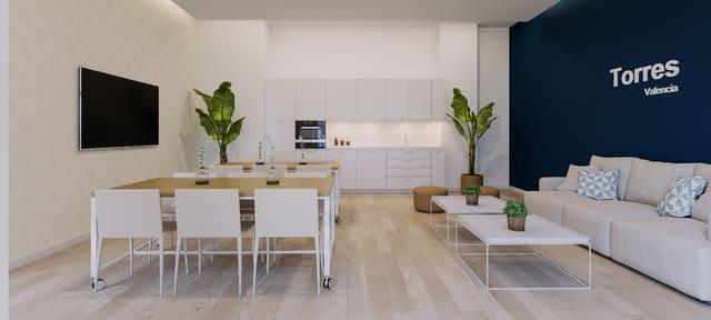4 Zimmer Apartment zu verkaufen in Valencia Stadt mit Pool Garage - 369.000 € (Ref: 5931425)