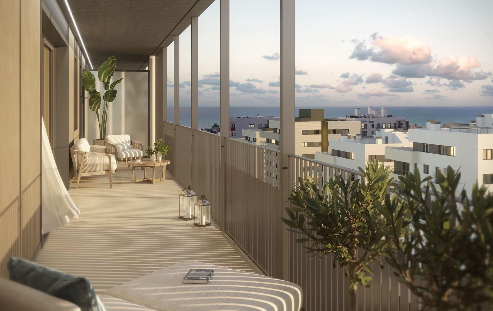4 chambre Appartement à vendre à Vilanova i la Geltru avec piscine - 370 000 € (Ref: 5931469)