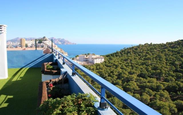 2 slaapkamer Penthouse te huur in La Villajoyosa / Vila Joiosa met zwembad garage - € 900 (Ref: 6042264)