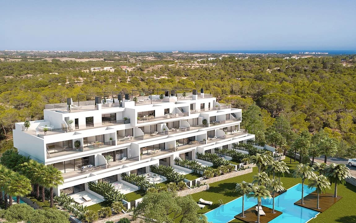 Apartamento de 2 habitaciones en Las Colinas Golf en venta con piscina garaje - 246.000 € (Ref: 4725444)