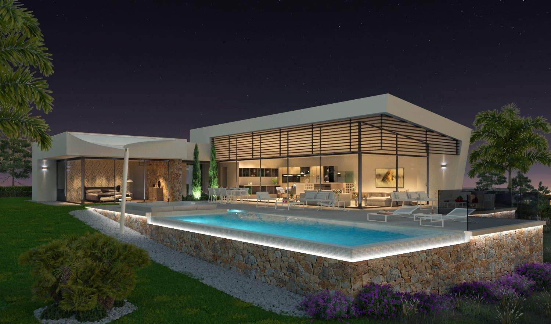 Chalet de 4 habitaciones en Las Colinas Golf en venta con piscina garaje - 1.400.000 € (Ref: 4725469)
