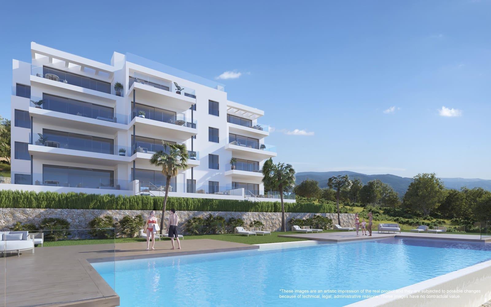 Apartamento de 3 habitaciones en Las Colinas Golf en venta con piscina garaje - 350.000 € (Ref: 5086792)