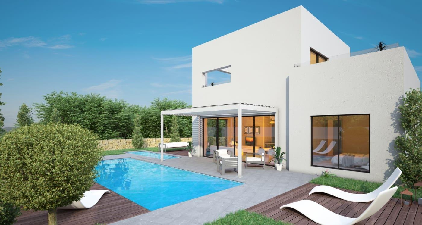 Chalet de 3 habitaciones en Las Colinas Golf en venta con piscina - 550.000 € (Ref: 5086797)
