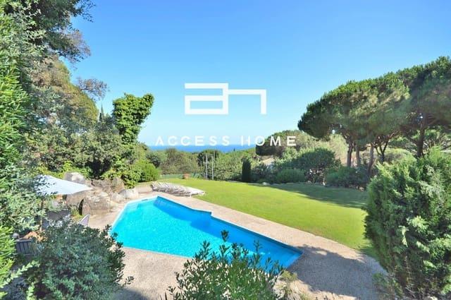 5 soveværelse Villa til salg i Sant Andreu de Llavaneres med swimmingpool garage - € 2.600.000 (Ref: 5744151)