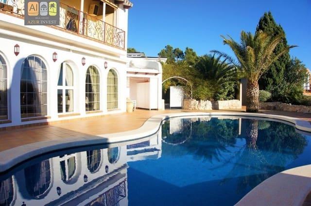 2 Zimmer Ferienvilla in Altea la Vella mit Pool - 1.470 € (Ref: 5326038)