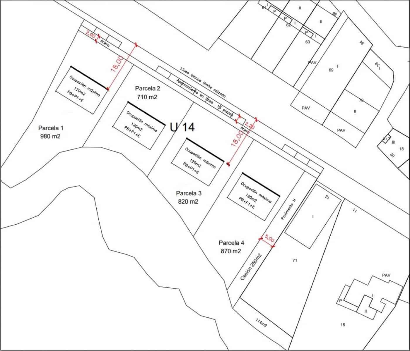 Działka budowlana na sprzedaż w Ibargoiti - 60 623 € (Ref: 5703546)