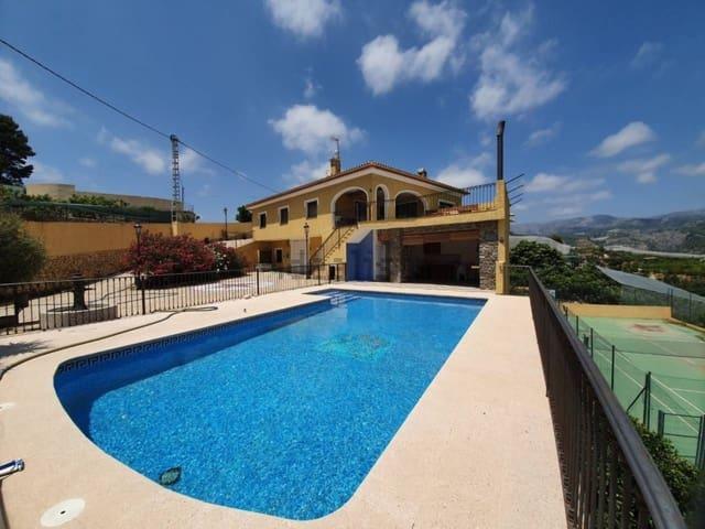 7 soveværelse Villa til leje i Callosa d'En Sarria med swimmingpool garage - € 2.500 (Ref: 6039188)