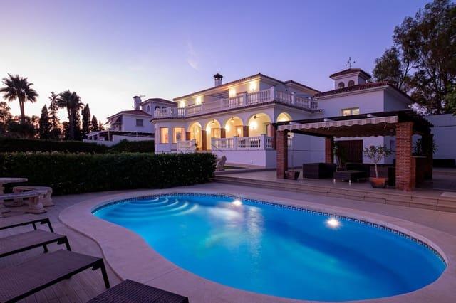 5 makuuhuone Huvila myytävänä paikassa Campo Mijas mukana uima-altaan  autotalli - 1 250 000 € (Ref: 6091913)