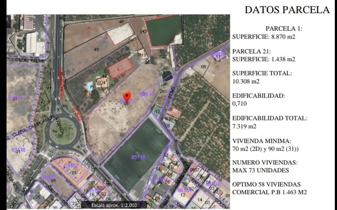 Building Plot for sale in Alcala - € 2,800,000 (Ref: 5341567)