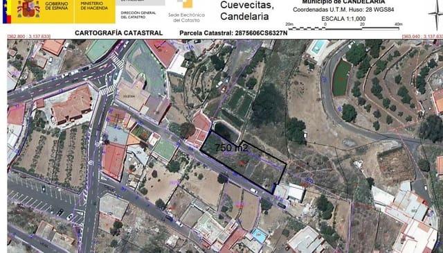 Solar/Parcela en Candelaria en venta - 73.707 € (Ref: 5391599)