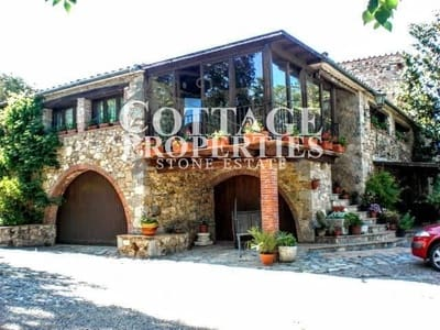 9 Zimmer Finca/Landgut zu verkaufen in La Cellera de Ter mit Pool Garage - 1.200.000 € (Ref: 5084152)