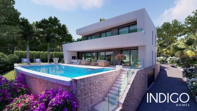 4 bedroom Villa for sale in Teulada with pool garage - € 1,450,000 (Ref: 6241050)