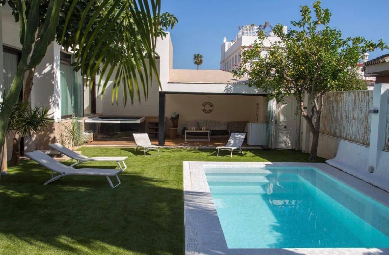 3 slaapkamer Villa te huur in Torremolinos met zwembad garage - € 3.500 (Ref: 5179098)