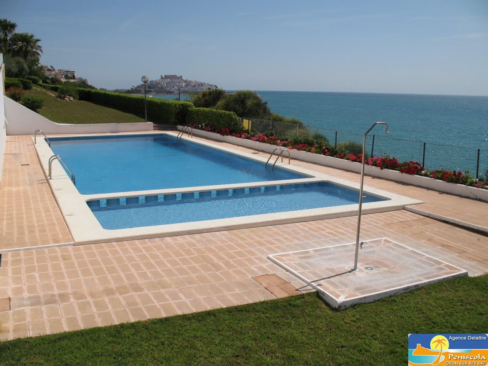 2 camera da letto Villetta Bifamiliare da affitare come casa vacanza in Peniscola con piscina - 340 € (Rif: 5078695)