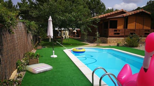 3 sovrum Trähus till salu i La Pobla Tornesa med pool - 190 000 € (Ref: 5064314)