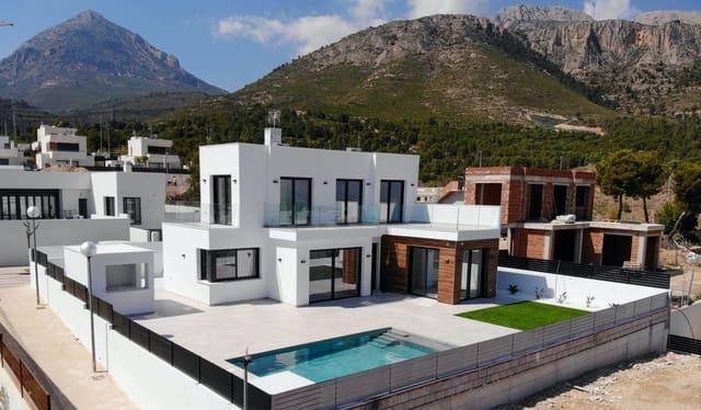 3 makuuhuone Huvila myytävänä paikassa Polop mukana uima-altaan - 320 000 € (Ref: 6120527)