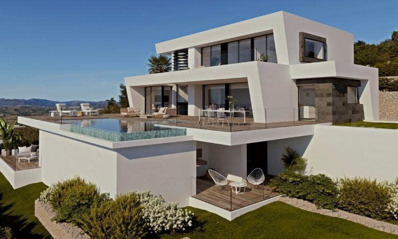 4 sypialnia Willa na sprzedaż w Cumbre del Sol z basenem garażem - 2 371 000 € (Ref: 6156639)