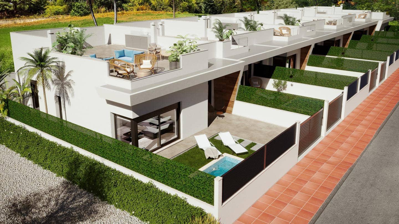 2 quarto Moradia em Banda para venda em La Roda com piscina - 199 500 € (Ref: 6156675)