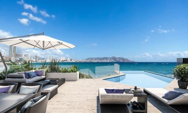 3 sypialnia Penthouse na sprzedaż w Benidorm z basenem garażem - 1 200 000 € (Ref: 6157029)