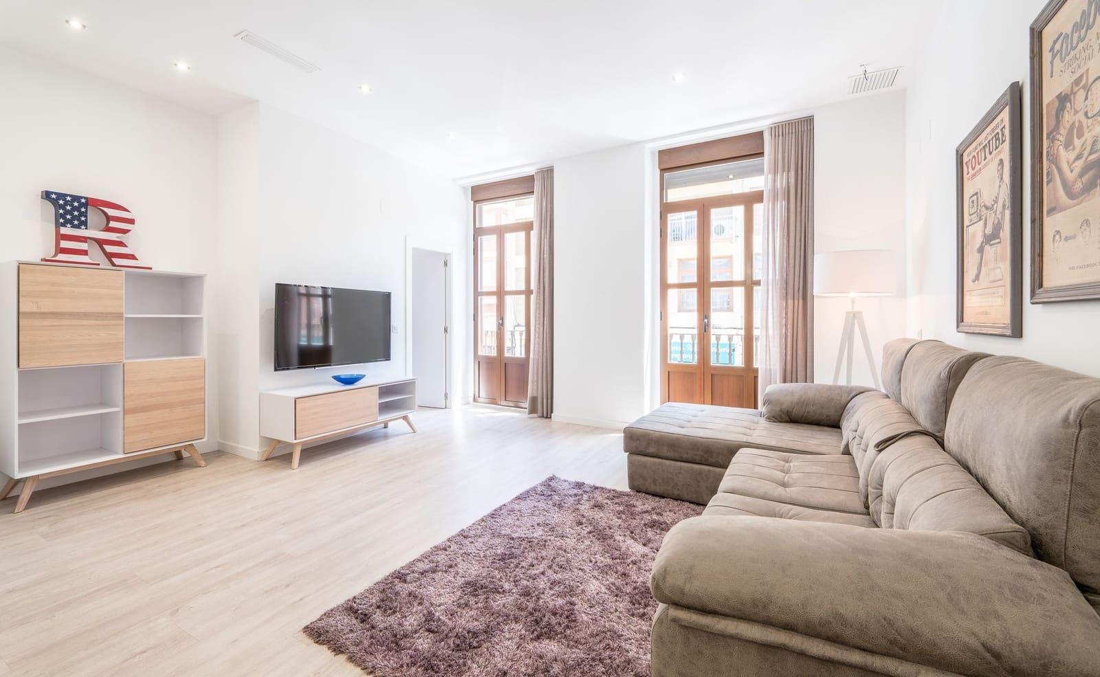Apartamento de 3 habitaciones en València ciudad en alquiler vacacional - 700 € (Ref: 5291869)