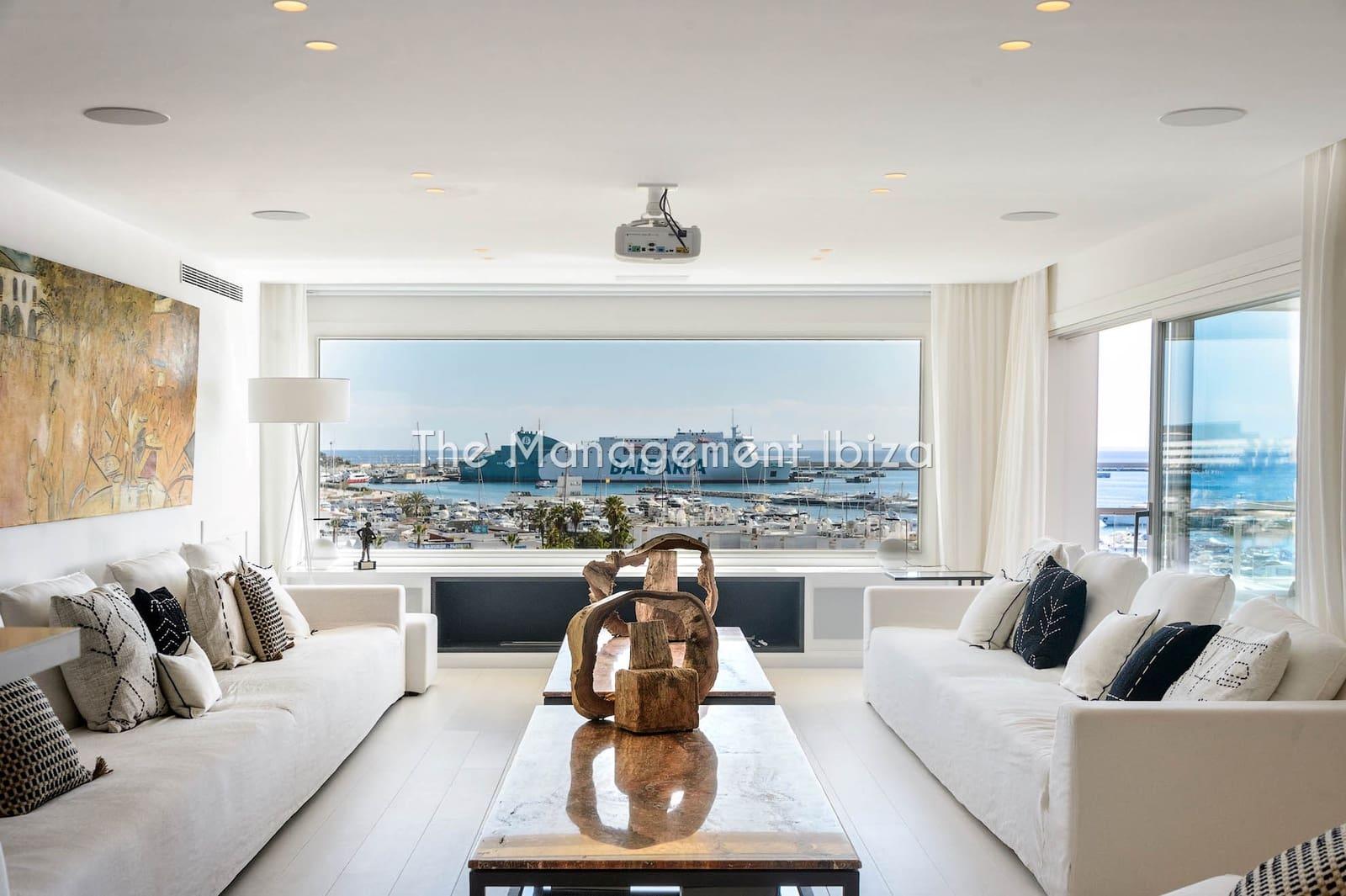 5 sovrum Takvåning att hyra i Ibiza stad med pool garage - 28 750 € (Ref: 5078394)
