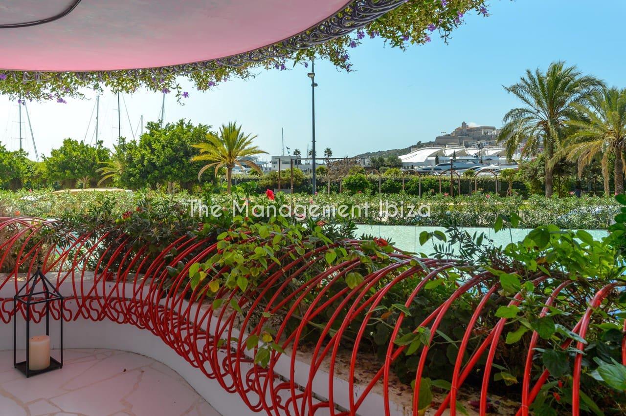 2 sovrum Lägenhet att hyra i Ibiza stad med pool garage - 7 000 € (Ref: 5086853)