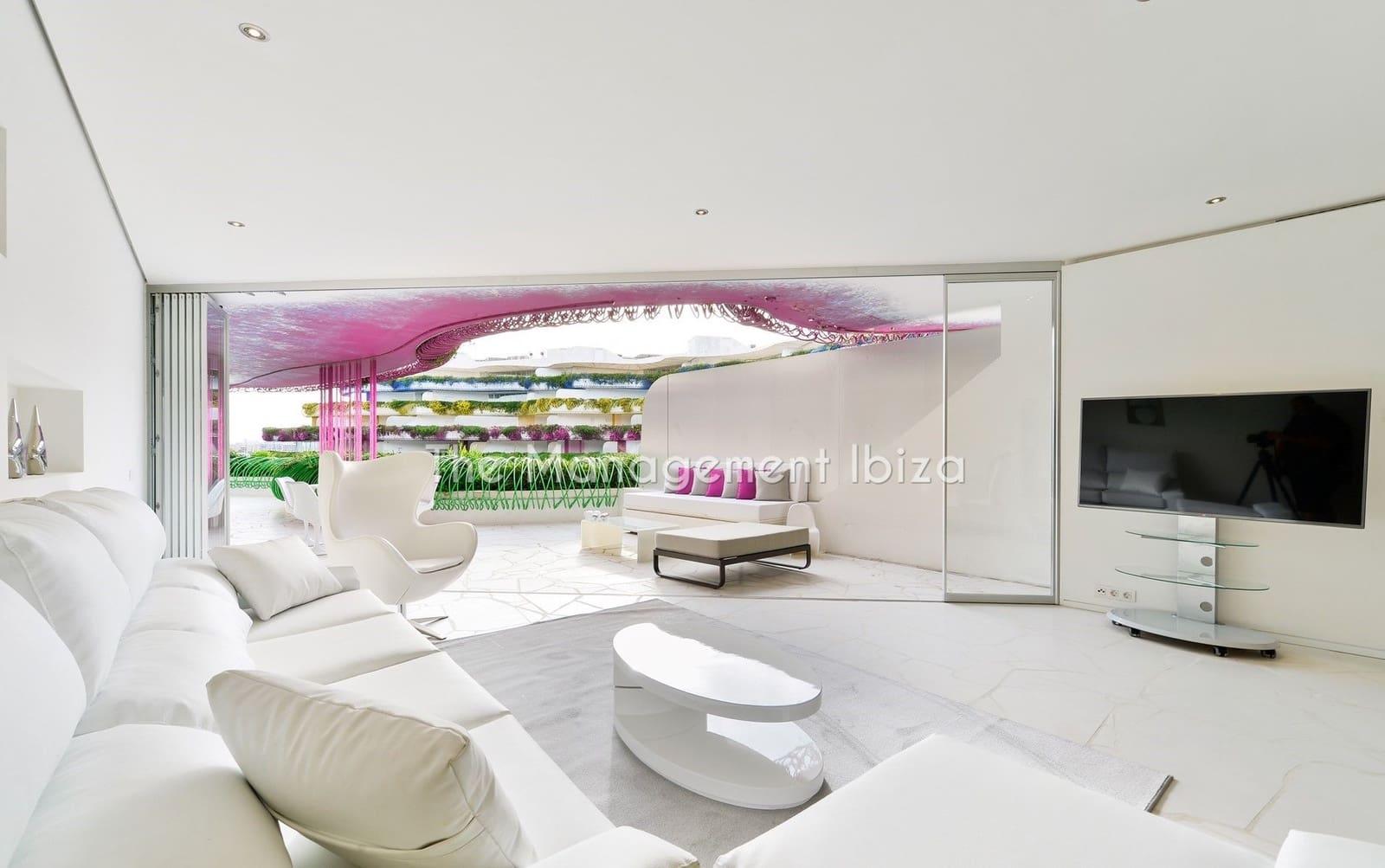 3 sovrum Lägenhet att hyra i Ibiza stad med pool garage - 4 000 € (Ref: 5190451)