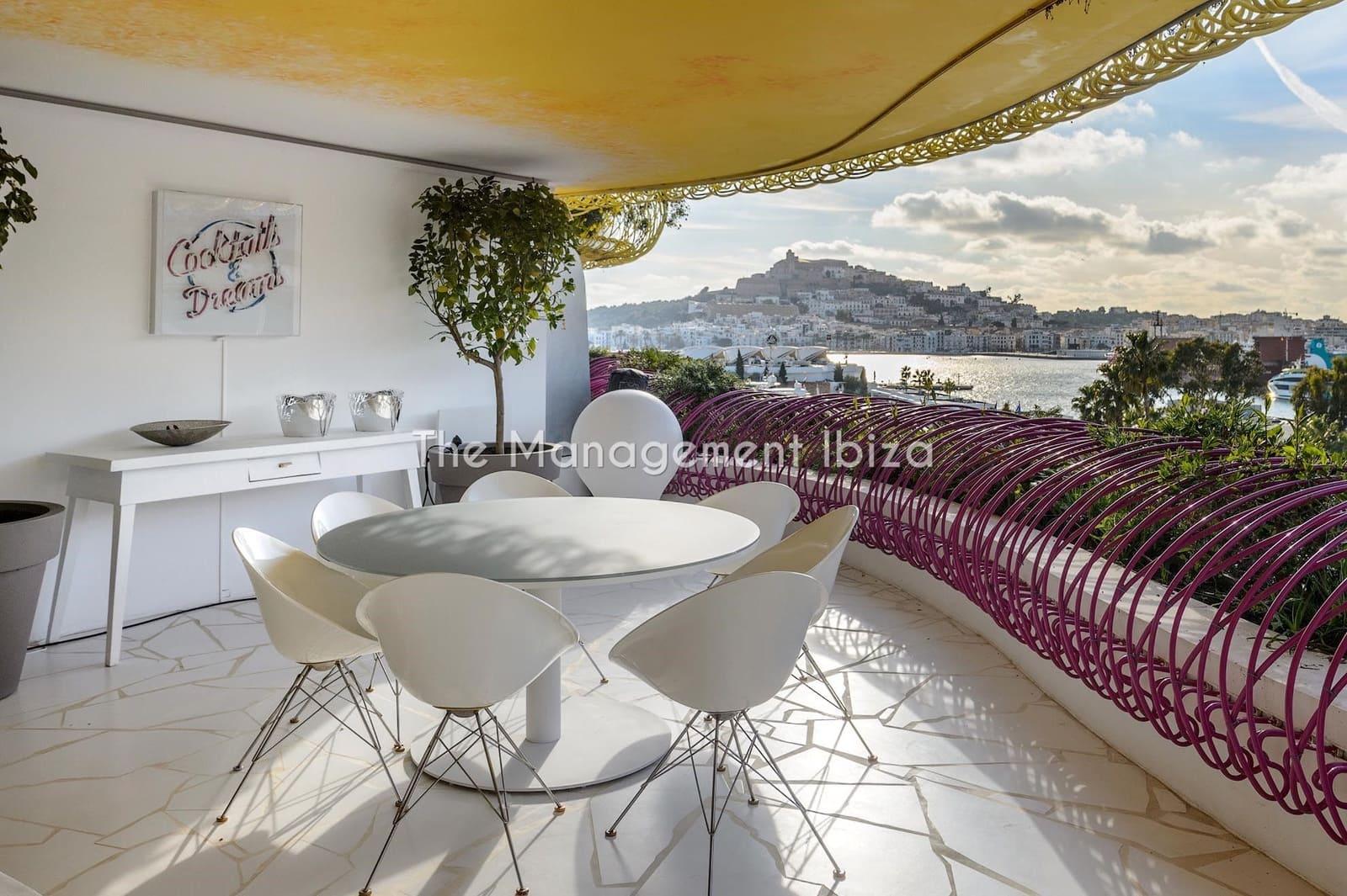 3 sovrum Lägenhet att hyra i Ibiza stad med pool garage - 10 000 € (Ref: 5194448)