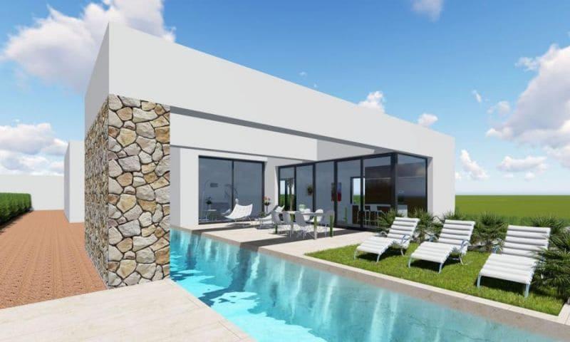 Chalet de 3 habitaciones en Benijófar en venta con piscina - 480.000 € (Ref: 5068607)