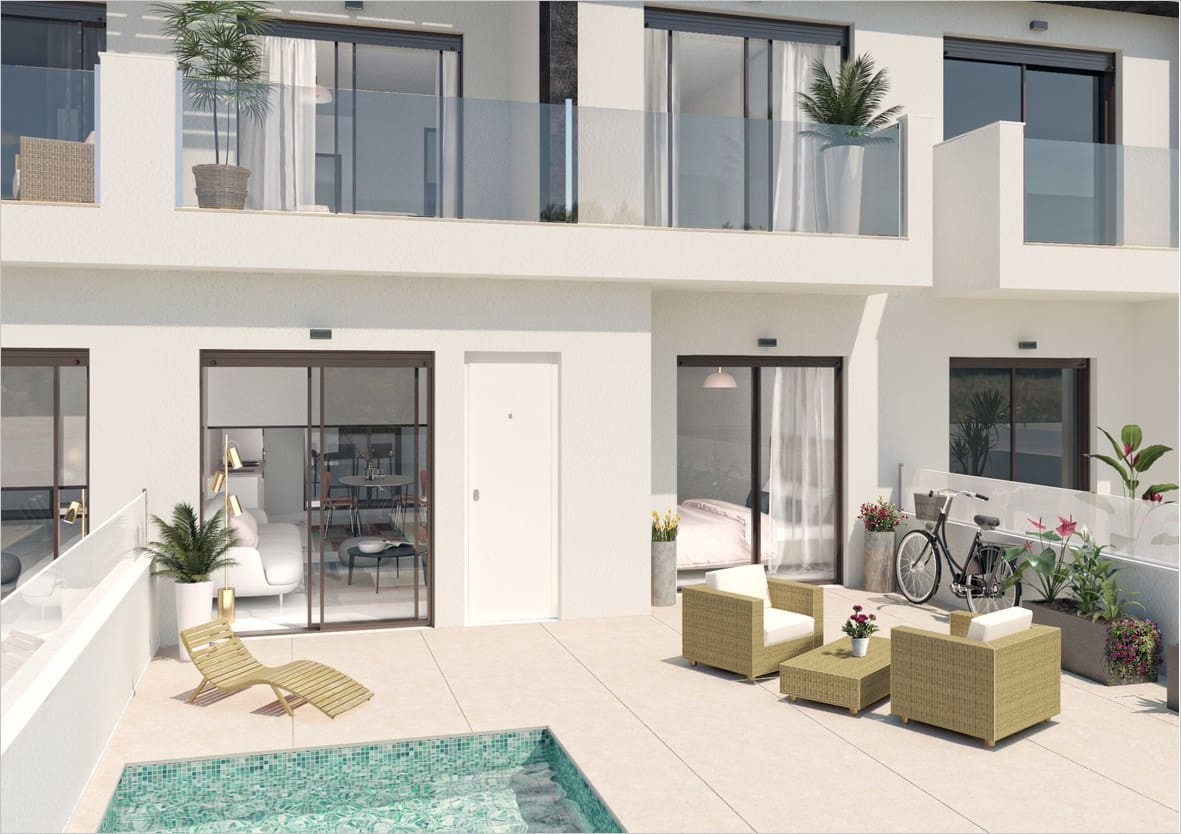 3 bedroom Townhouse for sale in San Pedro del Pinatar with pool - € 209,000 (Ref: 5160982)