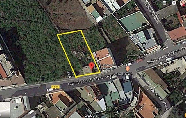 Ubebygd land til salgs i Santa Brigida - € 79 500 (Ref: 5430491)