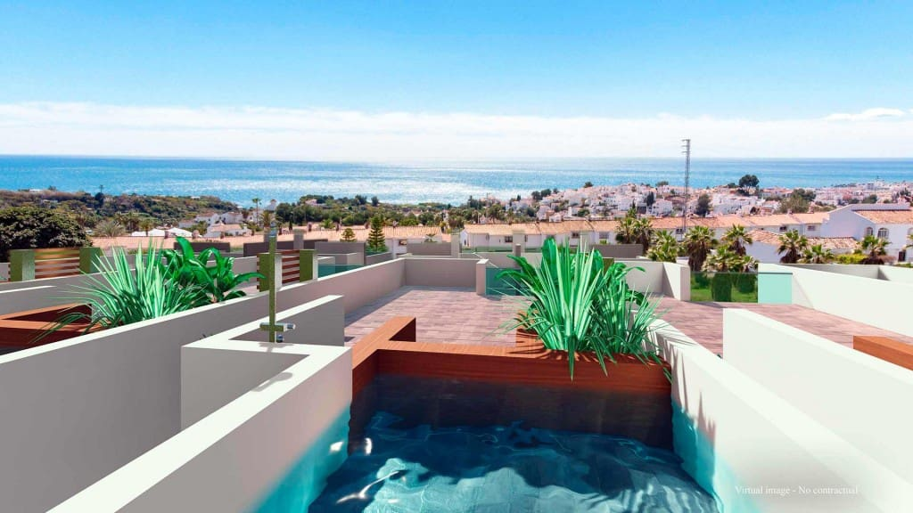 3 bedroom Townhouse for sale in Nerja with pool - € 380,000 (Ref: 5173675)