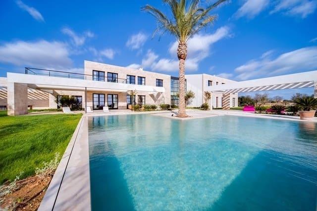 5 chambre Finca/Maison de Campagne à vendre à Es Llombards avec piscine garage - 4 400 000 € (Ref: 5698169)