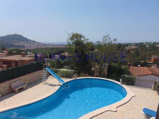 7 sypialnia Dom na sprzedaż w Blanes z basenem garażem - 545 000 € (Ref: 5104116)