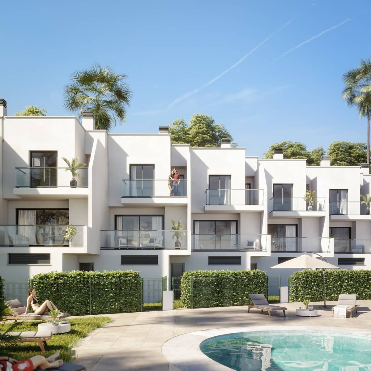 3 bedroom Townhouse for sale in Benalmadena with pool garage - € 275,000 (Ref: 5125528)