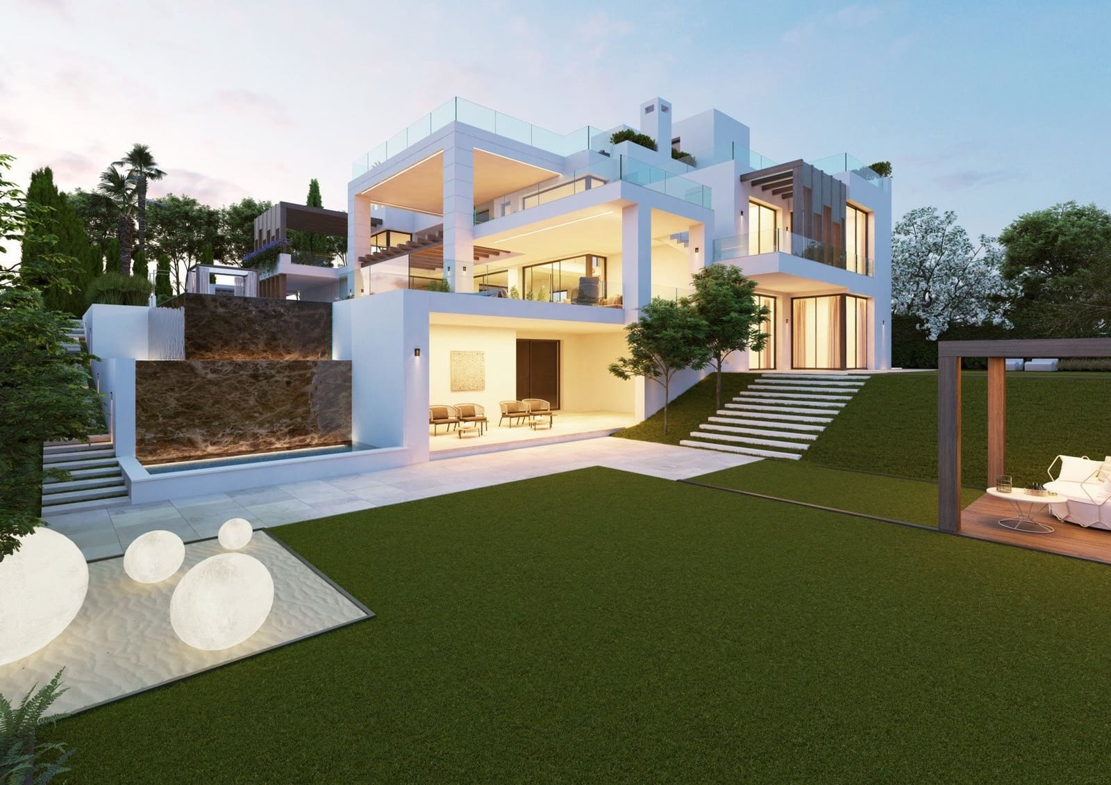 6 bedroom Villa for sale in Los Flamingos with pool - € 5,450,000 (Ref: 5807067)