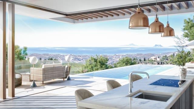 3 quarto Moradia para venda em Benahavis com piscina - 2 269 613 € (Ref: 6053436)