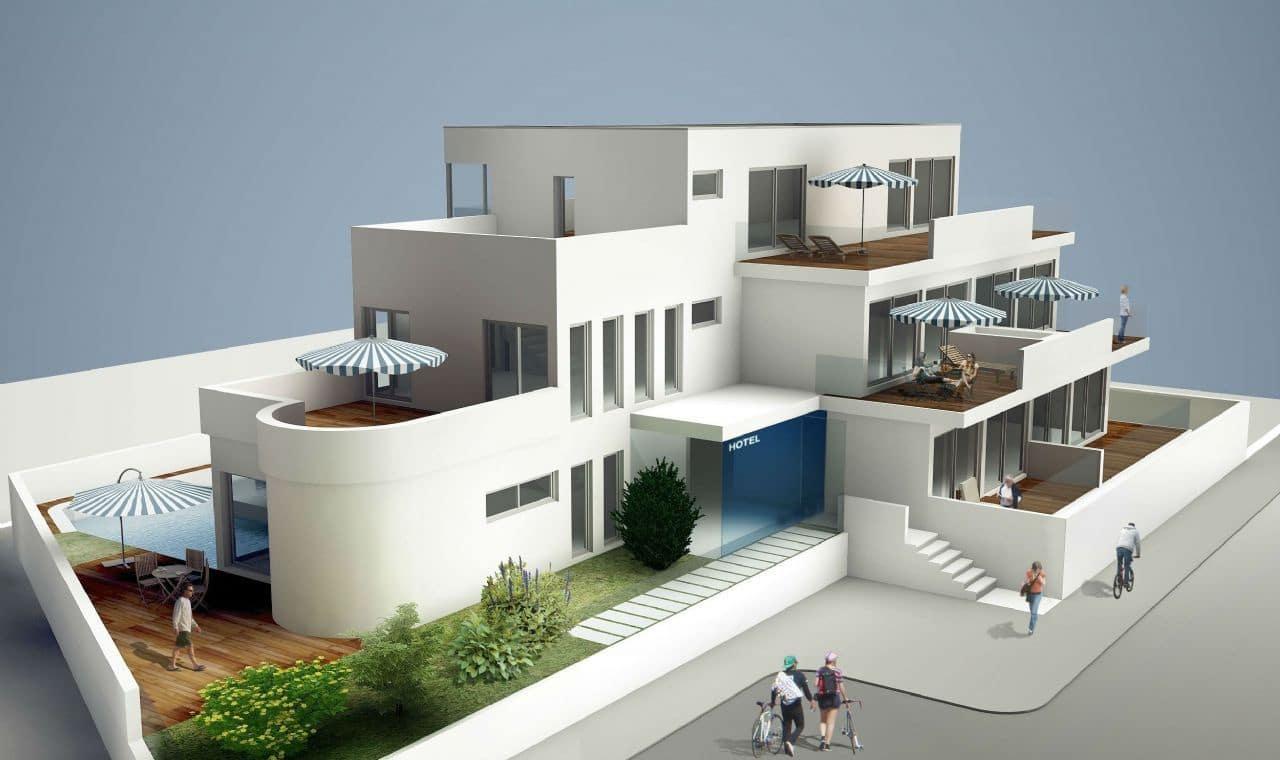 11 chambre Hôtel à vendre à Playa de las Americas avec piscine garage - 3 750 000 € (Ref: 5247661)
