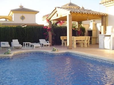 2 bedroom Villa for holiday rental in Mazarron with pool - € 360 (Ref: 5226842)