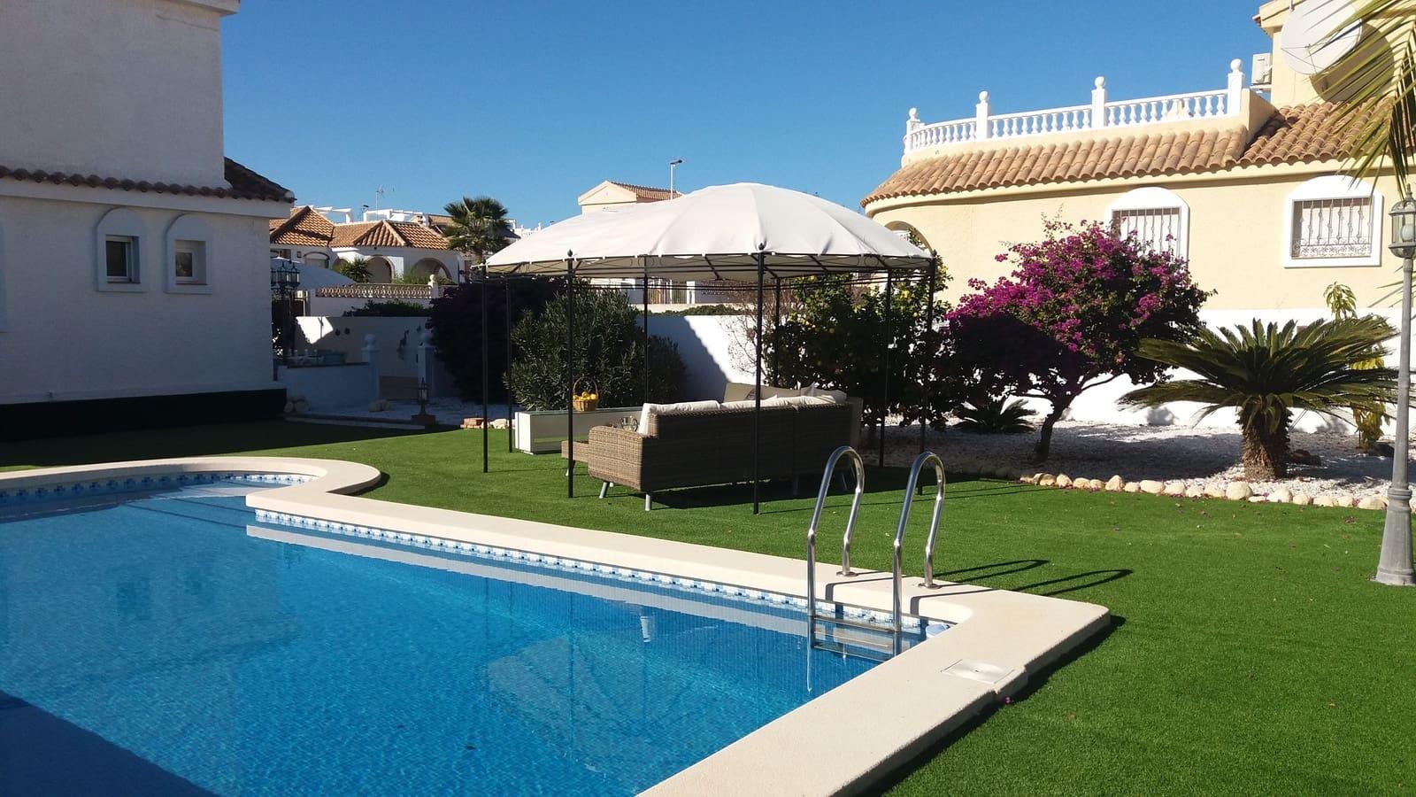 3 Zimmer Ferienvilla in Camposol mit Pool - 780 € (Ref: 5226904)