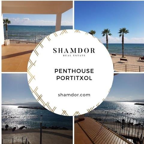 5 slaapkamer Penthouse te huur in Es Molinar / El Molinar - € 3.000 (Ref: 5572895)