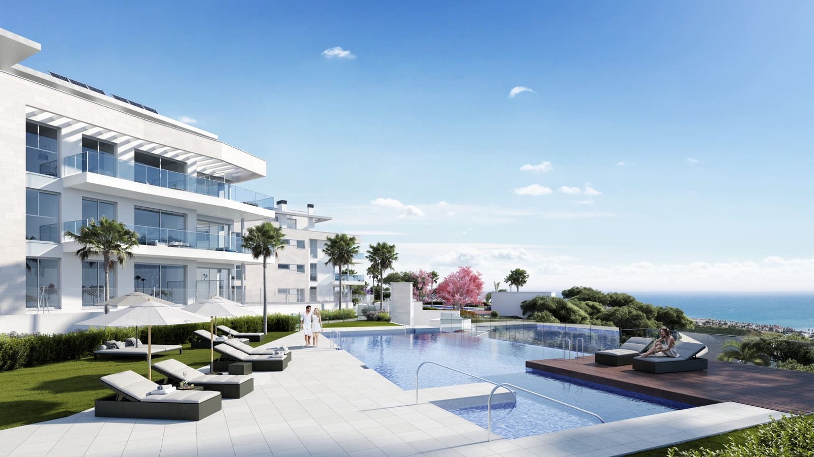 2 bedroom Apartment for sale in Mijas Costa with pool - € 253,000 (Ref: 5890203)