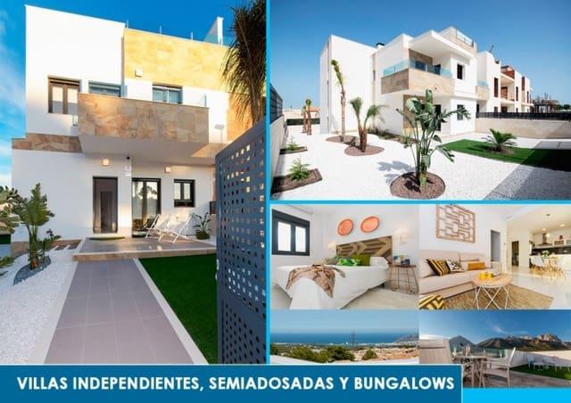 2 sypialnia Dom szeregowy na sprzedaż w Polop z basenem garażem - 175 000 € (Ref: 6179160)