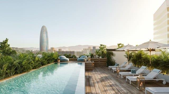1 makuuhuone Ullakkoasunto myytävänä paikassa Barcelona kaupunki mukana uima-altaan - 577 500 € (Ref: 5409815)