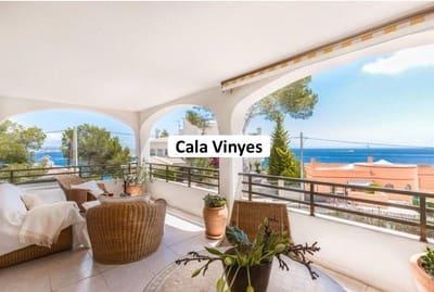 3 slaapkamer Appartement te huur in Cala Vinyes / Cala Vinyas / Cala Vinas met zwembad garage - € 1.500 (Ref: 5358432)