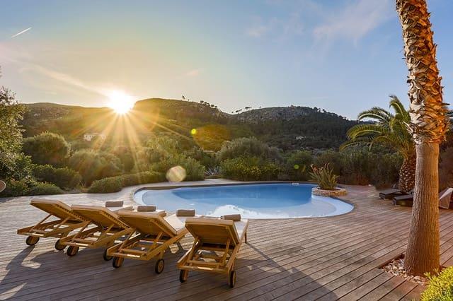 5 chambre Finca/Maison de Campagne à vendre à Andratx avec piscine - 2 900 000 € (Ref: 5384958)