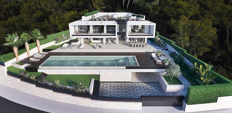 6 chambre Villa/Maison à vendre à Cas Catala avec piscine - 7 900 000 € (Ref: 5384964)