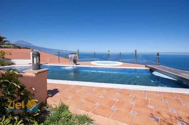 5 soverom Villa til salgs i Tacoronte med svømmebasseng garasje - € 985 000 (Ref: 5816355)