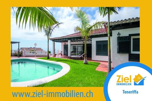 3 sovrum Bungalow till salu i El Sauzal med pool garage - 600 000 € (Ref: 5816399)